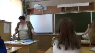 Начало последнего урока любимой математики с любимым учителем