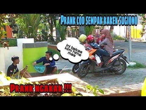 COD SEMPAK KAKEK SUGIONO BEKAS KIMI HIME !!! (prank Indonesia)