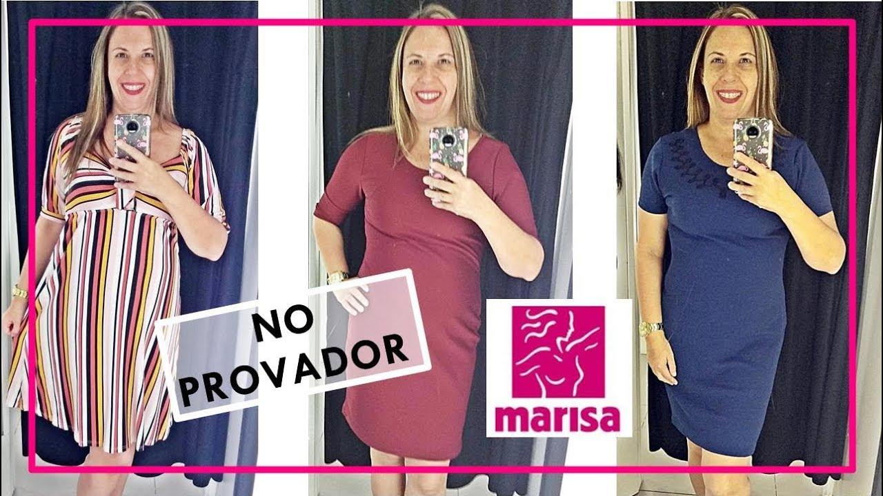 0a7364f34c No Provador da Marisa - Vestidos - YouTube