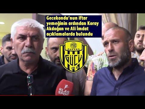 Gecekondu Iftarı Sonrası Koray Akdoğan Ve Ali İmdat'ın Açıklamaları...