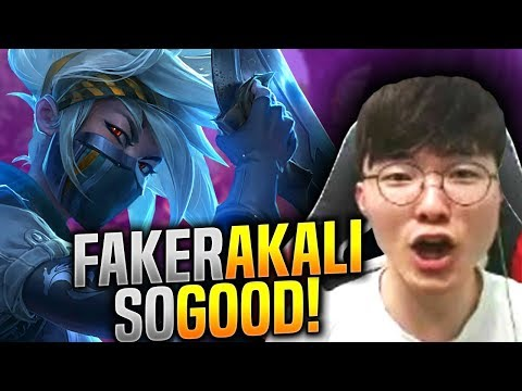 FAKER is SO GOOD with AKALI! - SKT T1 Faker Plays Akali vs Zoe Mid!   S9 KR SoloQ Patch 9.13