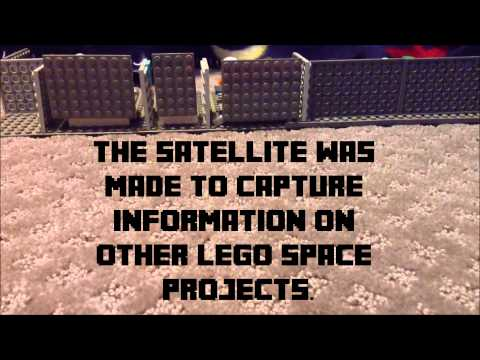 Original Lego Stopmotion: Space Intel Project