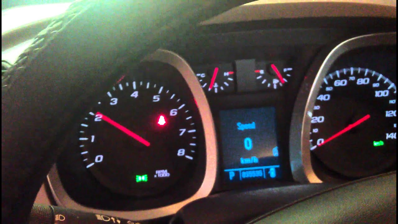 2010 Chevrolet Equinox A/C engine noise problem - YouTube