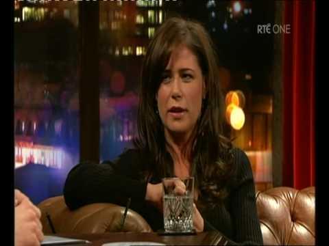 Maura Tierney on Tubridy Tonight part 1