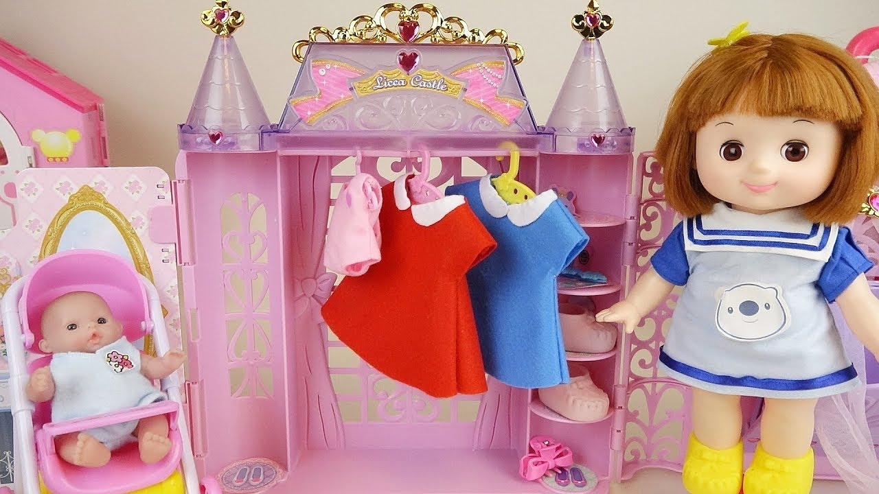 Baby doll house play baby Doli friends story