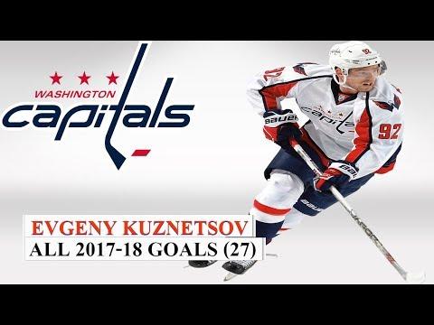 Evgeny Kuznetsov (#92) All 27 Goals of the 2017-18 NHL Season