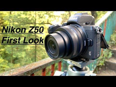 Nikon Z50 First look. + Size comparisons.  Z DX 16-50mm + Z DX 50-250mm
