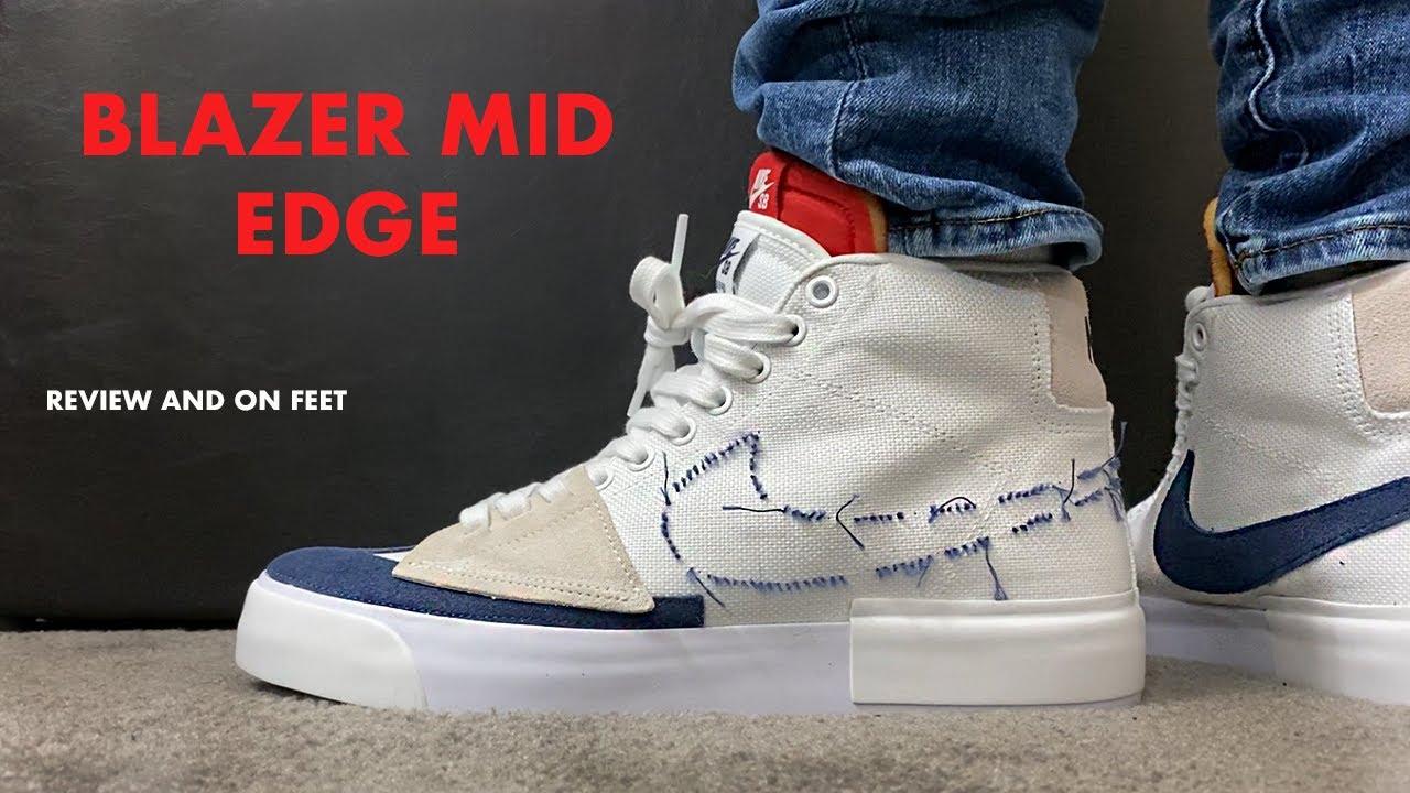 Nike SB Zoom Blazer Mid Edge Review and On Feet