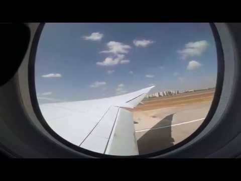 Air Canada 787 Takeoff From Ben Gurion Airport