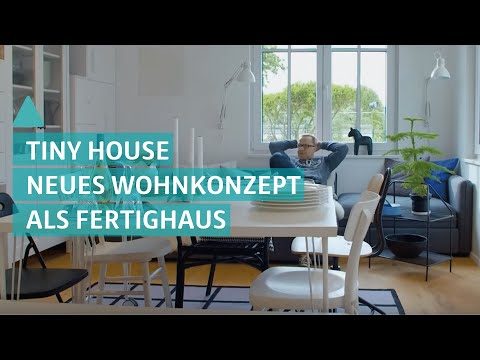 Green Living Space / Tiny House als Fertighaus – Mini Haus im Test