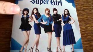 KARA (??) 2nd Japanese Album - Super Girl Unboxing & Review