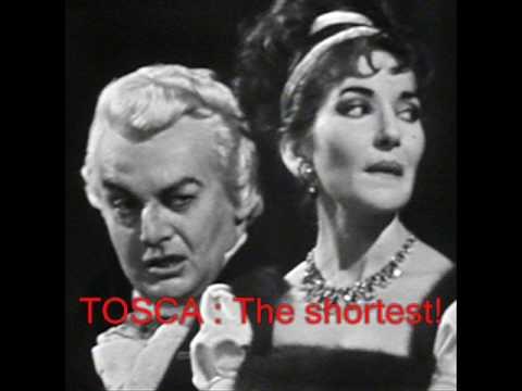 Tosca - Maria Callas - Great aria and breathtaking scenes