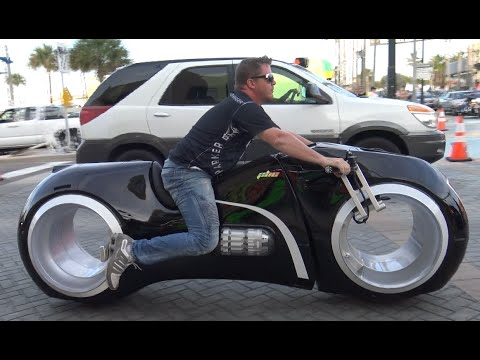 Tron Bike & Most Expensive Custom Motorcycles | Daytona Bike Week 2016