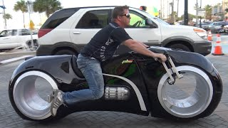 Tron Bike & Most Expensive Custom Motorcycles | Daytona Bike Week 2016