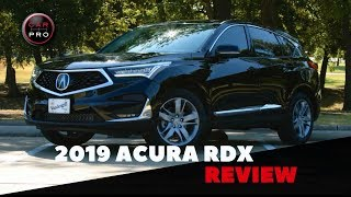 2019 Acura RDX Delivers Style, Luxury, Tech, Power, Solid Value