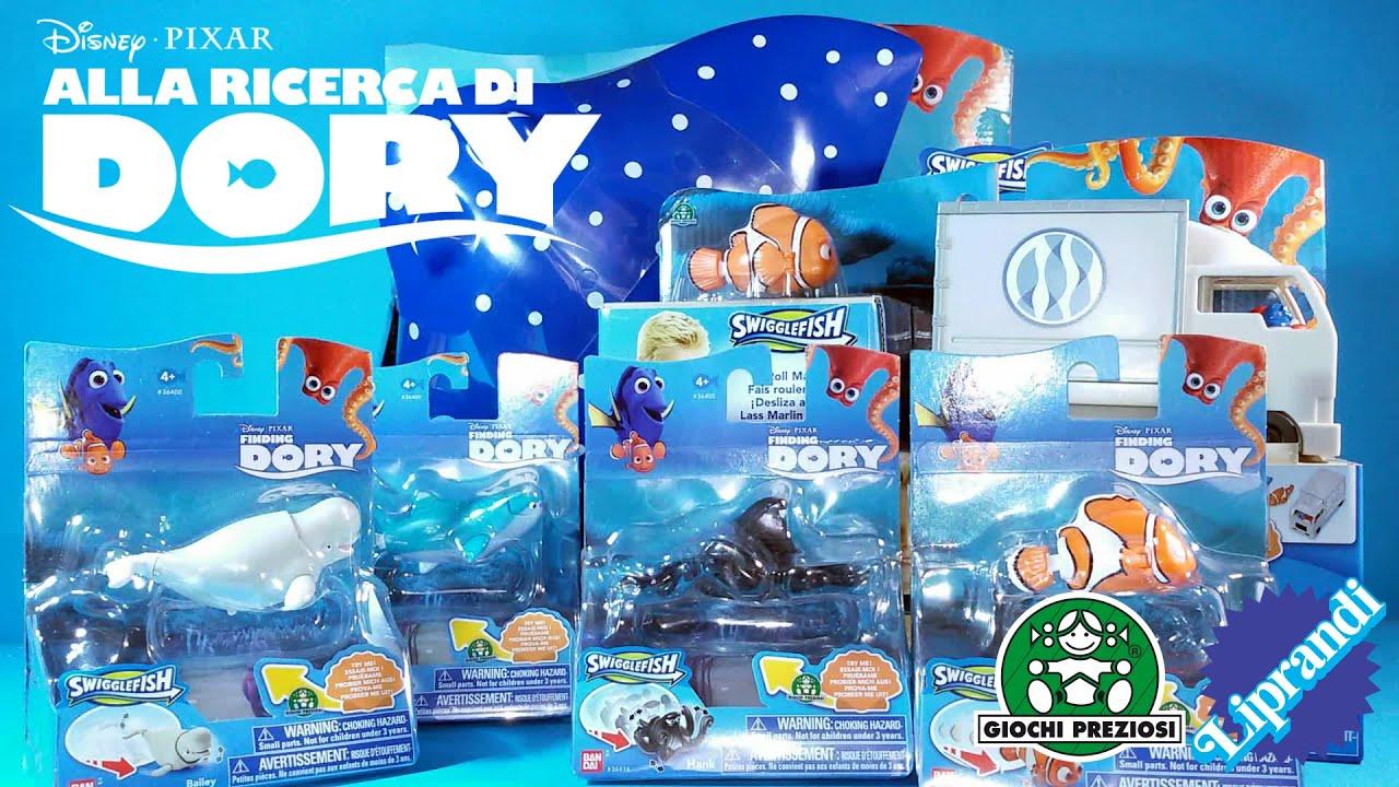 Giochi preziosi alla ricerca di dory swigglefish for Immagini dory
