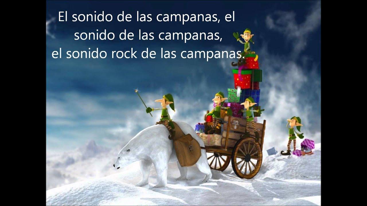 Jingle Bell Rock Subtitulada Al Espanol Youtube