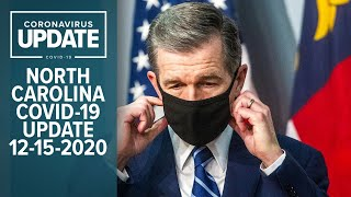 Just one day after north carolina began receiving shipments of the covid-19 vaccine, gov. roy cooper is scheduled to update state's response pande...