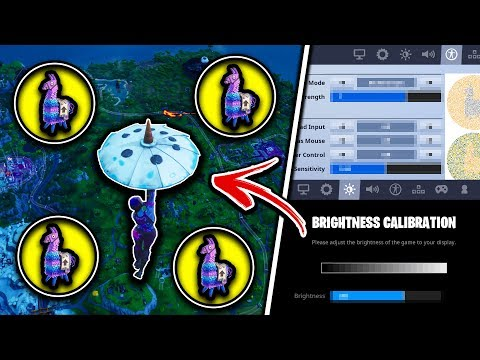 How To Spot LLAMAS From The Battle Bus In Fortnite (TUTORIAL)