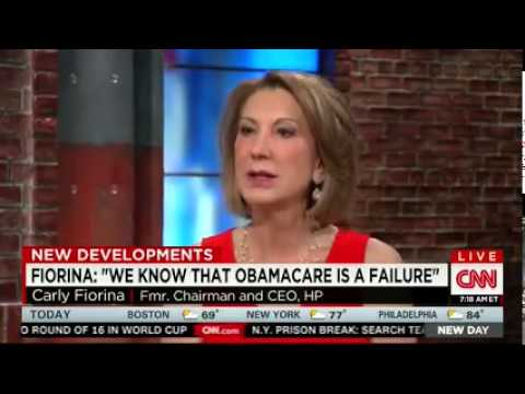 Carly's interview with CNN New Day