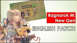 English translation patch