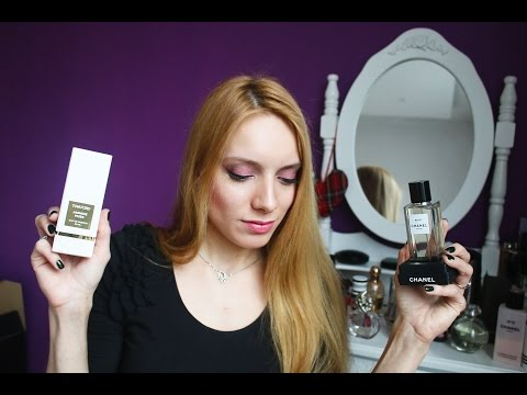 Большая коллекция парфюмов ♡ Chanel, Tom Ford, Serge Lutens, Dior, Hermes