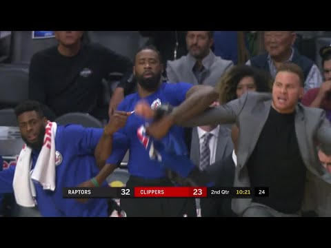 2nd Quarter, One Box Video: Los Angeles Clippers vs. Toronto Raptors