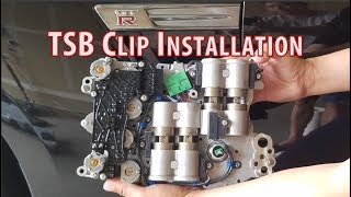 $45 dollar part fixes $18,000 GTR Transmission issue - TSB Clips