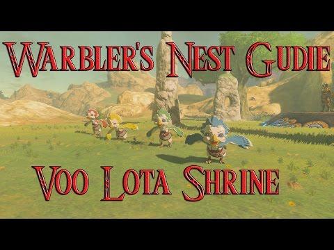 Recital at Warbler's Nest Shrine Quest Guide Zelda Breath of The Wild