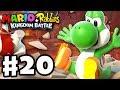 Mario + Rabbids Kingdom Battle - Gameplay Walkthrough Part 20 - It's Yoshi! And the Lava Queen...