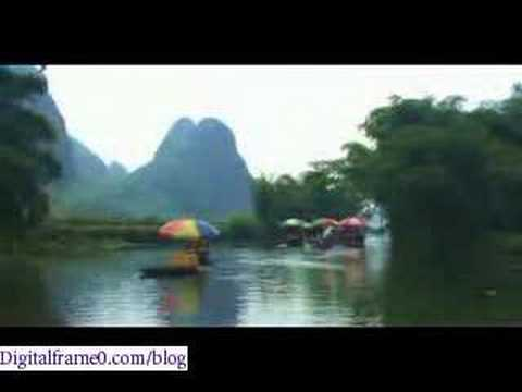 Yu Long river- A classic sight in Guilin, China travel