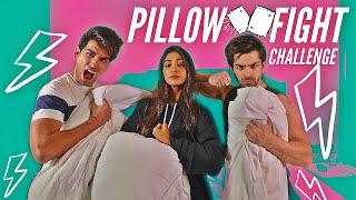 PILLOW FIGHT Challenge | Rimorav Vlogs