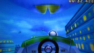 Mario Kart 7 Neo Bowser City Glitch 1′25″367 Former World Record