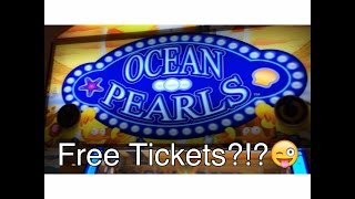 Mini Arcade Game Clips & Free Tickets!? Deal or No Deal/Ocean Pearl/Monster Drop