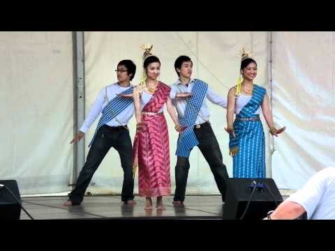 Lao-Thai Cultural and Art Performance Troupe - Dance #2