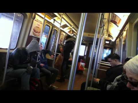 "Boston Orange Line ""T"" (MBTA) State Station to Wellington Station"
