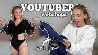 SHOPPER FRA YOUTUBERS WEBSHOPS! #2