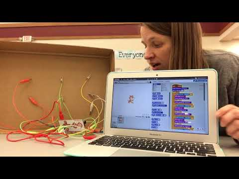 Makey Makey and Scratch Interactive Word Wall for Elementary Students