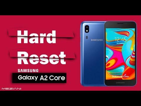 Hard Reset SAMSUNG Galaxy A2 Core | Factory Reset