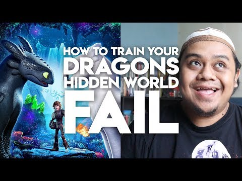 HOW TO TRAIN YOUR DRAGON 3 : HIDDEN WORLD FAIL! MOVIE REVIEW