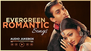 Video Evergreen Romantic Songs | Audio Jukebox | 90's Romantic Songs Old Hindi Love Songs download MP3, 3GP, MP4, WEBM, AVI, FLV Juli 2018