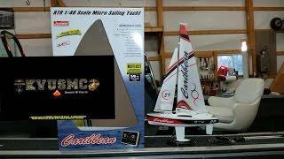 Joysway Caribbean Micro Sail Boat RC By KVUSMC