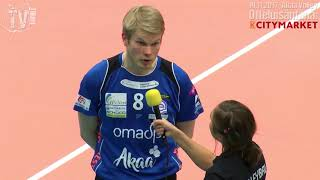 Tiikerit - Akaa Volley su 19.11.2017 - Ossi Heino