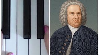 Bach Minuet in G | EASY PIANO TUTORIAL