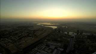 Sunrise from the Burj Khalifa