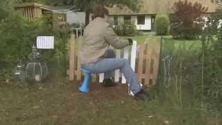 OneLeg, ergonomic stool for dynamic sitting
