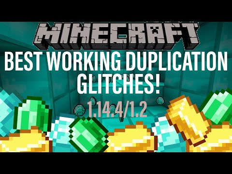 *BEST* Minecraft DUPLICATION GLITCHES For ALL PLATFORMS! Village and Pillage 1.14.4 Xbox PS4 PC JAVA
