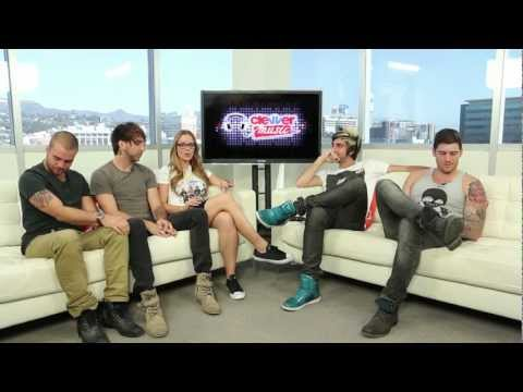 """ALL TIME LOW BAND INTERVIEW- NEW ALBUM """"DON'T PANIC"""""""
