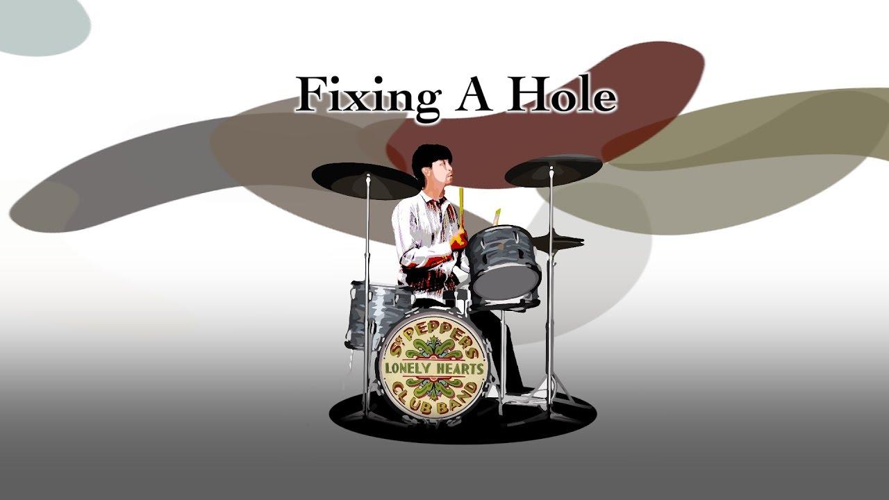 Fixing A Hole - The Beatles karaoke cover