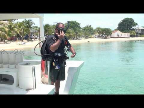 Deep Water Entry, Skill 3, www.goprocaribbean.com
